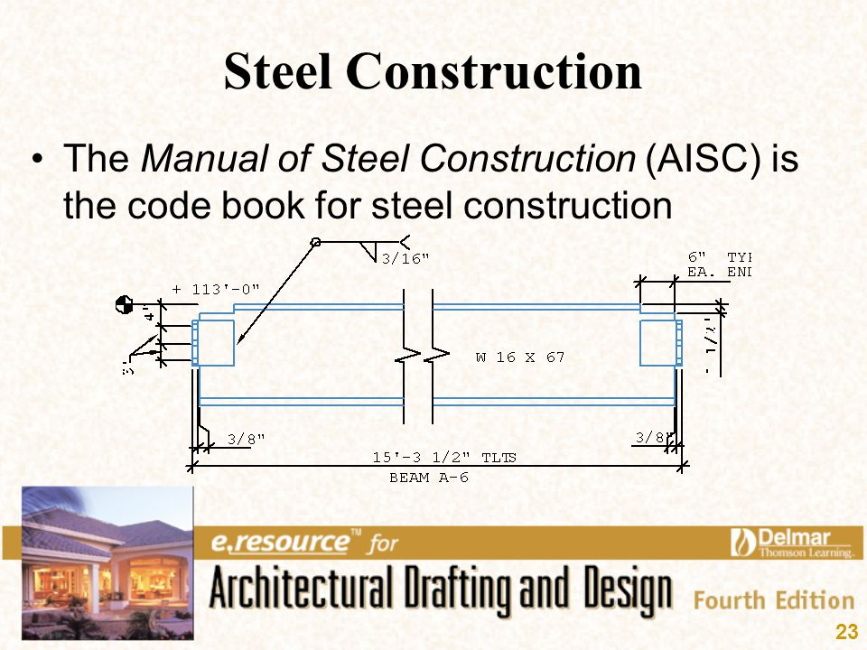 Steel Construction The Manual Of Steel Construction Aisc Is The Code Book For Steel Construction