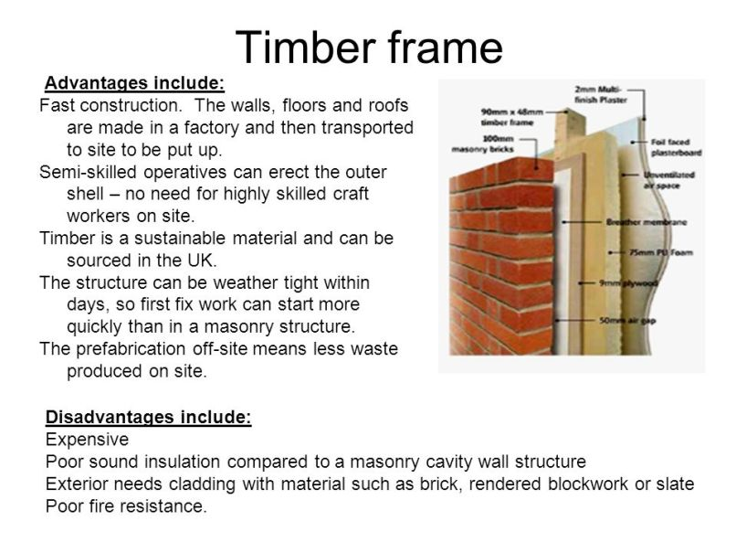 disadvantages of timber frame construction   pixels1st.com