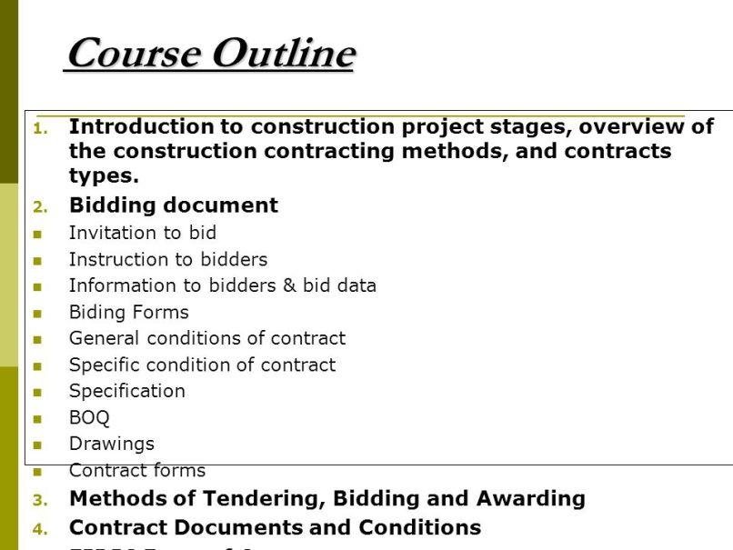 Invitation To Bid Construction Definition | Inviview.co