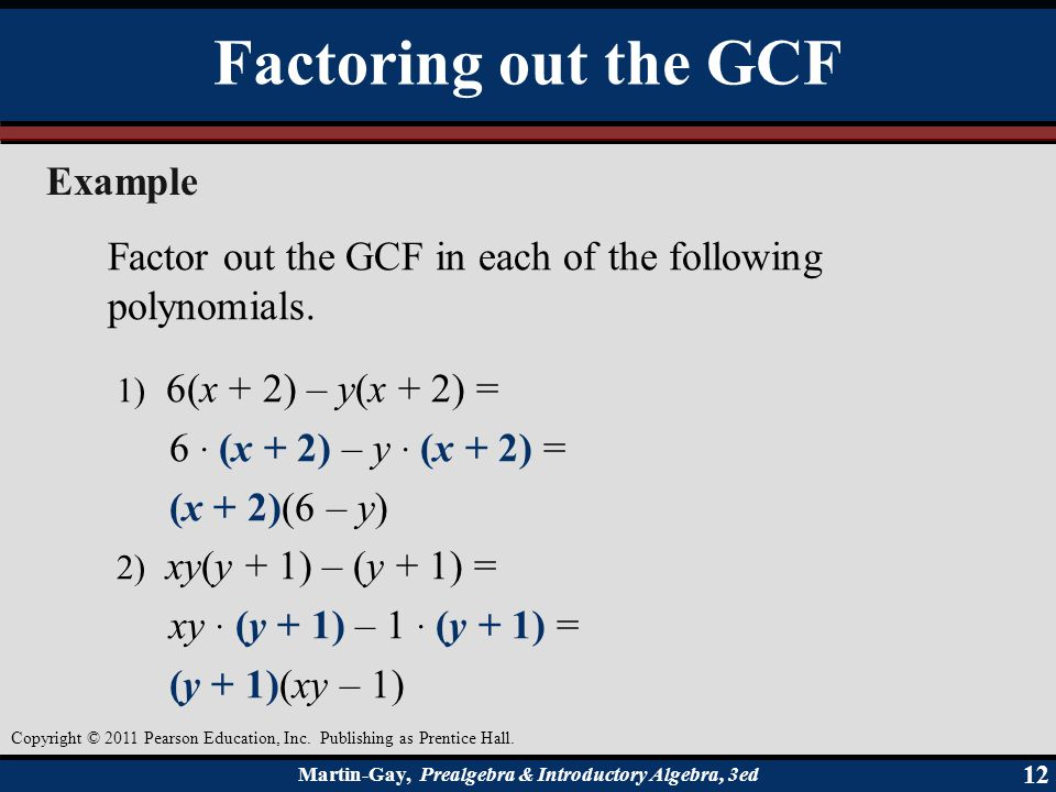 Factoring Polynomials  Ppt Video Online Download