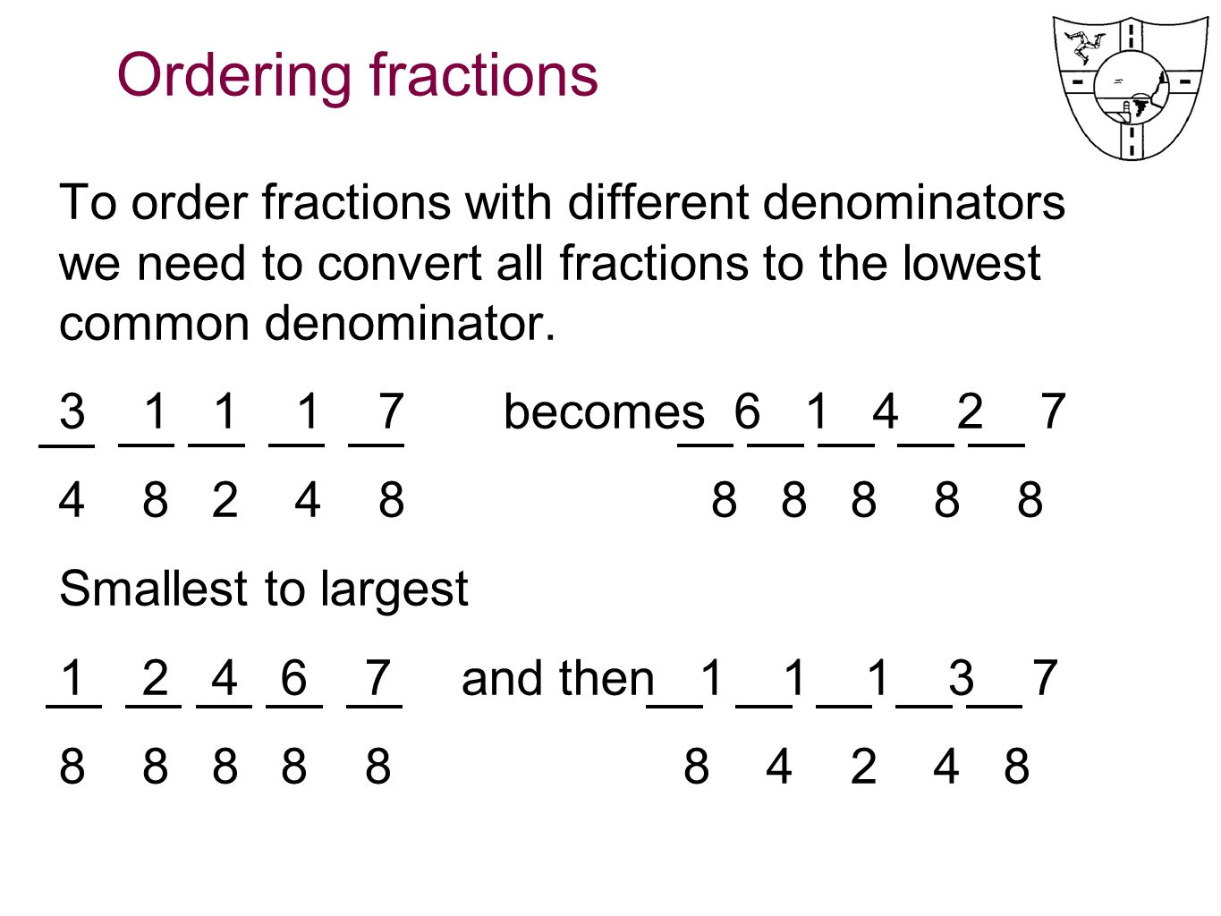 How To Add Two Fractions With Different Denominators