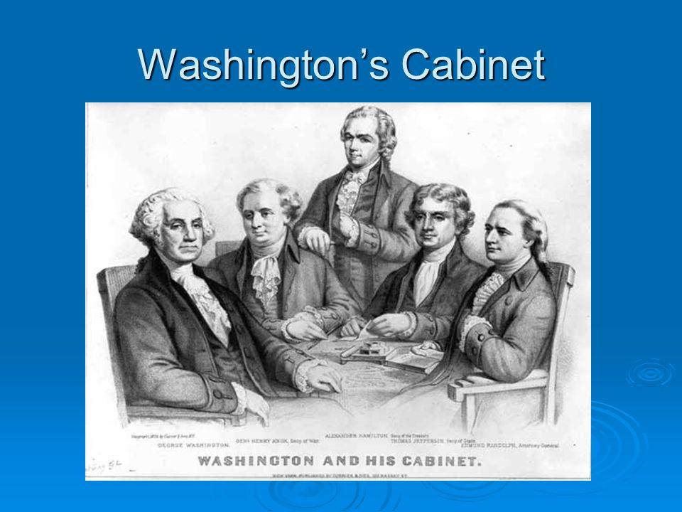 The Federalist Era George Washington S Presidency Ppt