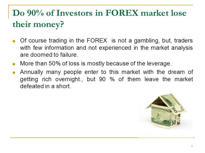 Image result for why are people losing their money on forex ?