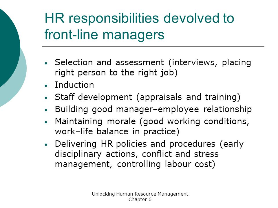 Role Of The Manager Key Points Ppt Video Online Download
