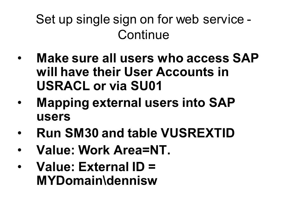 Create SAP Web Service with SAP .Net Connector in 5