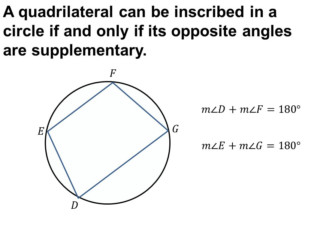 Today In Geometry Review