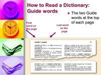 20 Elegant Dictionary Guide Words Worksheet for Second ...