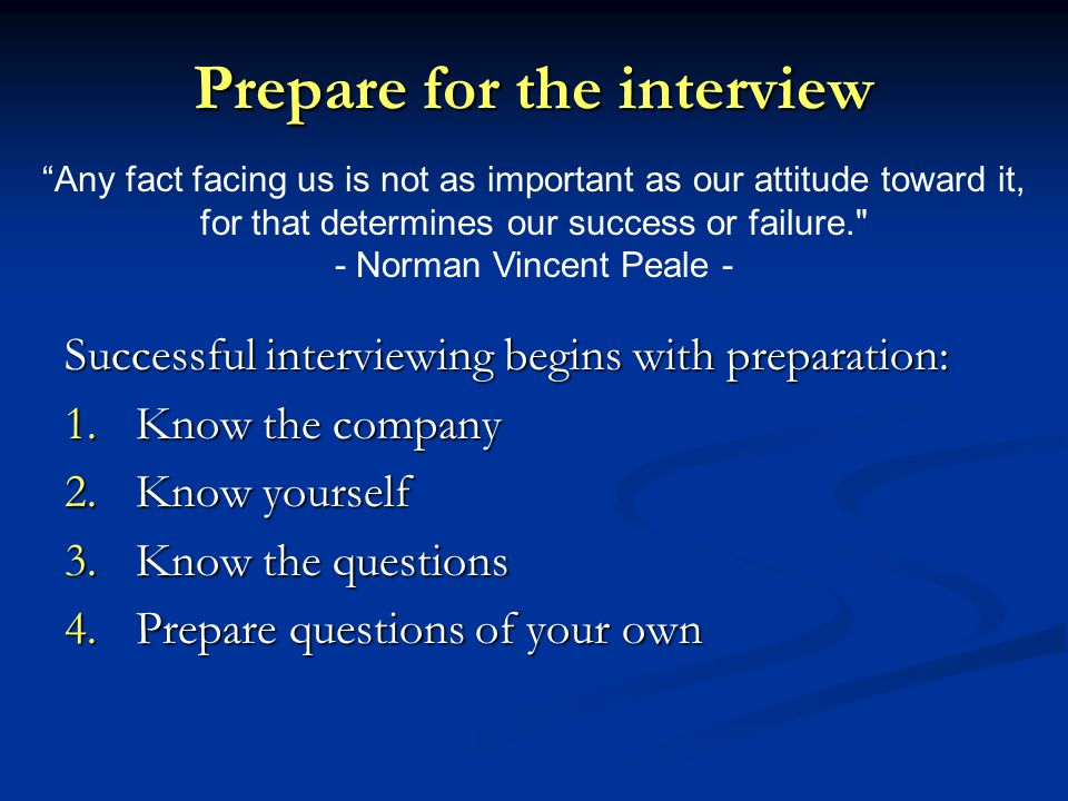 Job Interview Tips Ppt Download