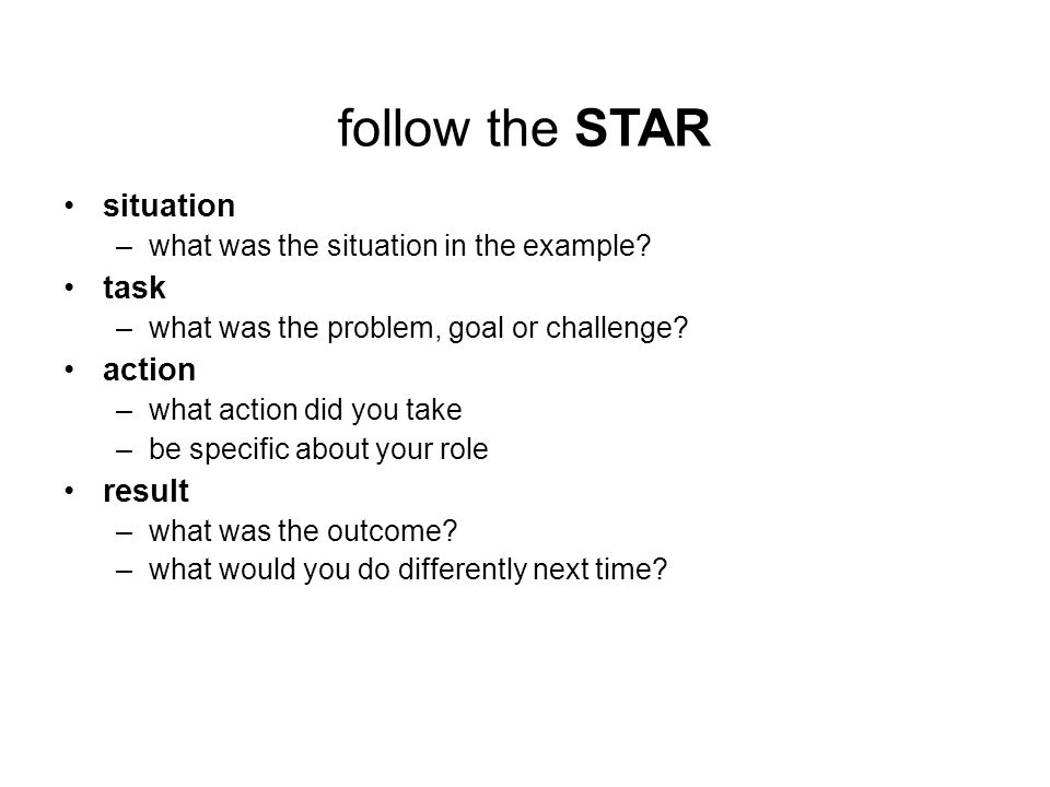 situation task action result resume examples awesome situation