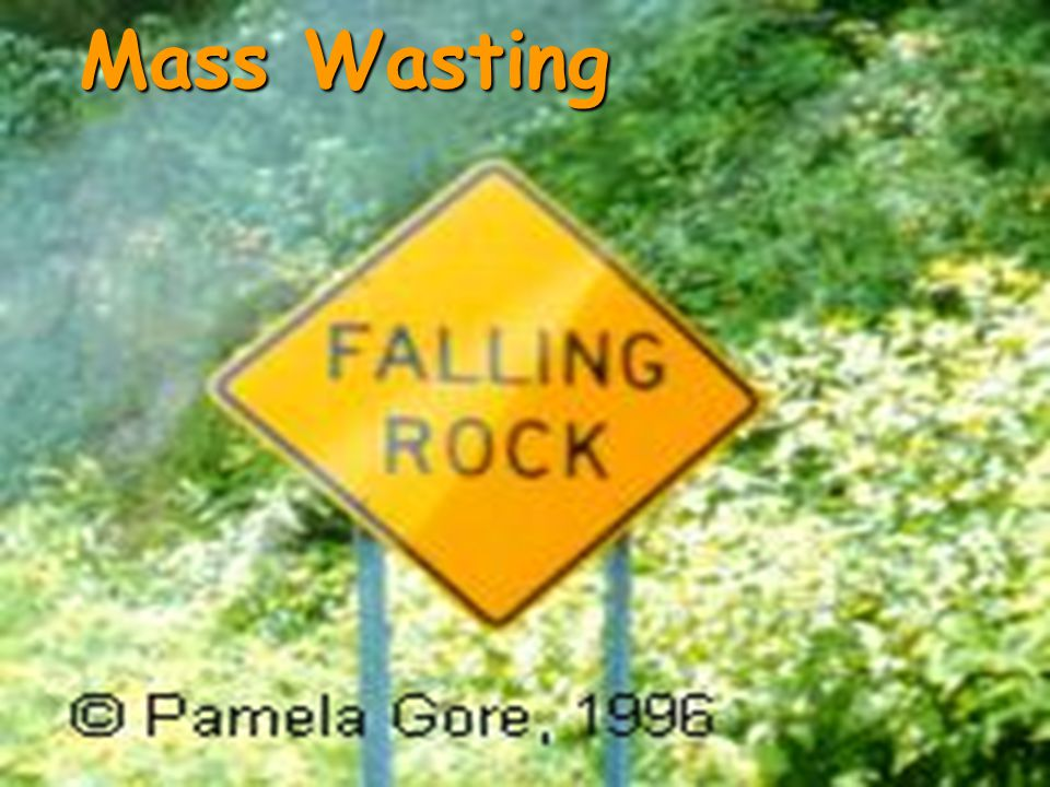 Mass Wasting Erosion Soils Weathering Ppt Video Online