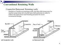 Retaining Wall Design SIL 211 MEKANIKA TANAH DR. IR ...