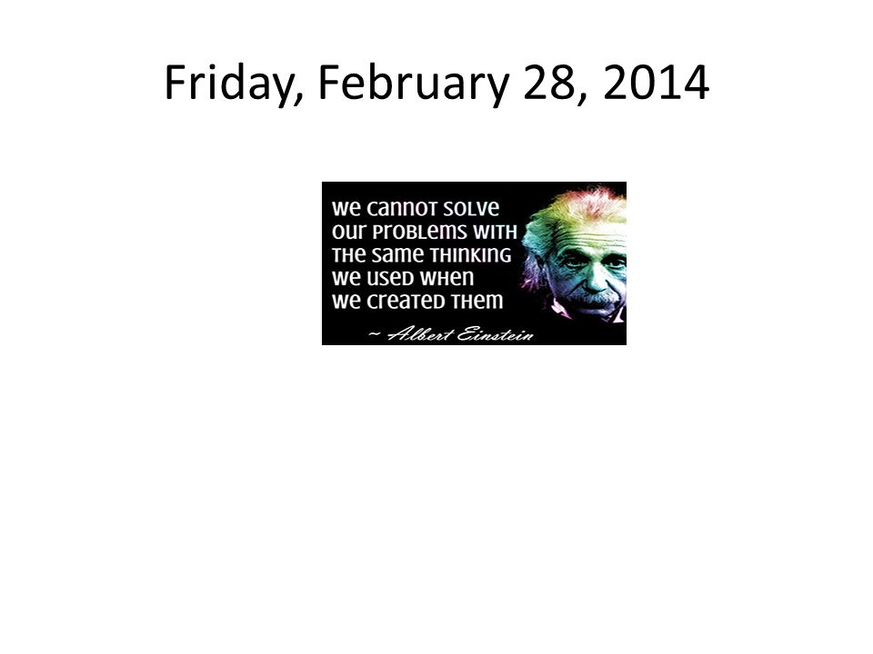 Monday, February 24, 2014 Read Pages C16-C25 in your