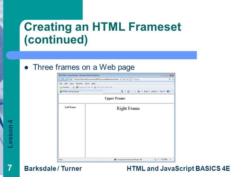 Beste Html Frames Ppt Fotos - Benutzerdefinierte Bilderrahmen Ideen ...
