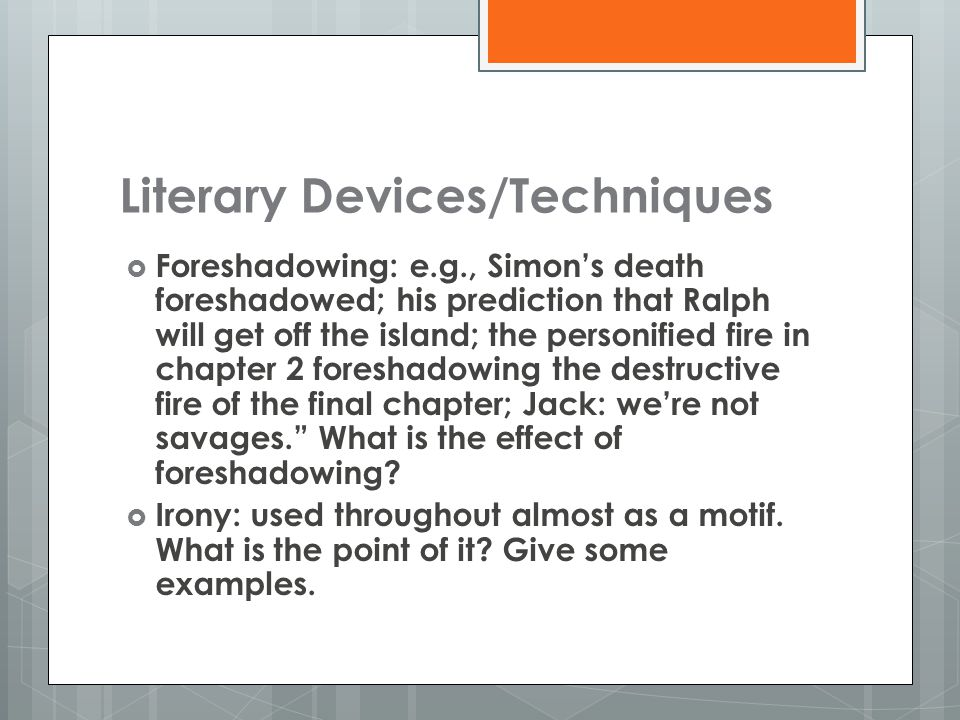 Lord Of The Flies Literary Analysis Ppt Download