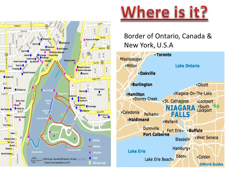Everyday Power Blog Best Ever Where Is Niagara Falls In