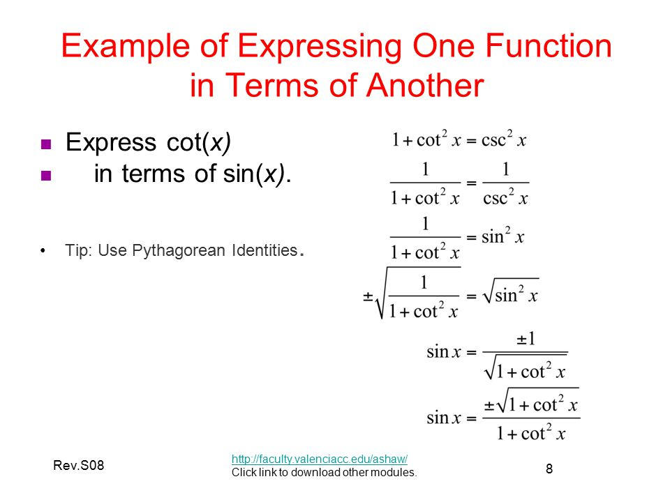 Trigonometric Identities I  ppt video online download