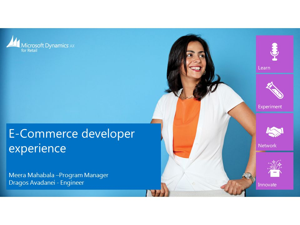 ECommerce developer experience  ppt video online download