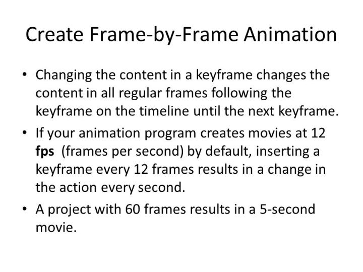 Colorful 12 Frames Per Second Animation Pattern - Frames Ideas ...