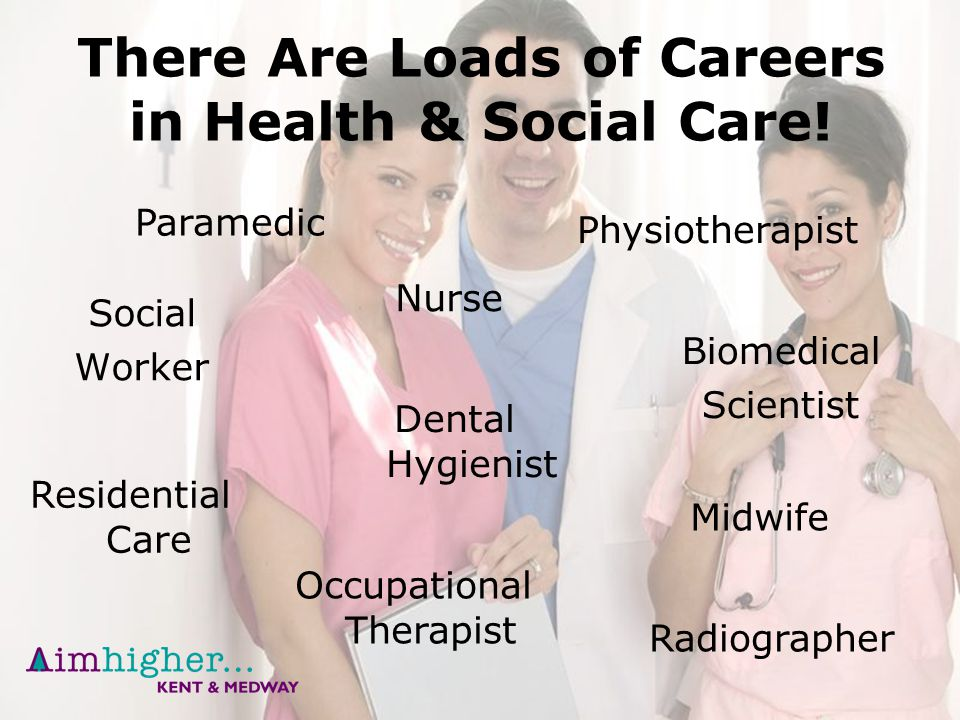 A Career in Health  Social Care  ppt download