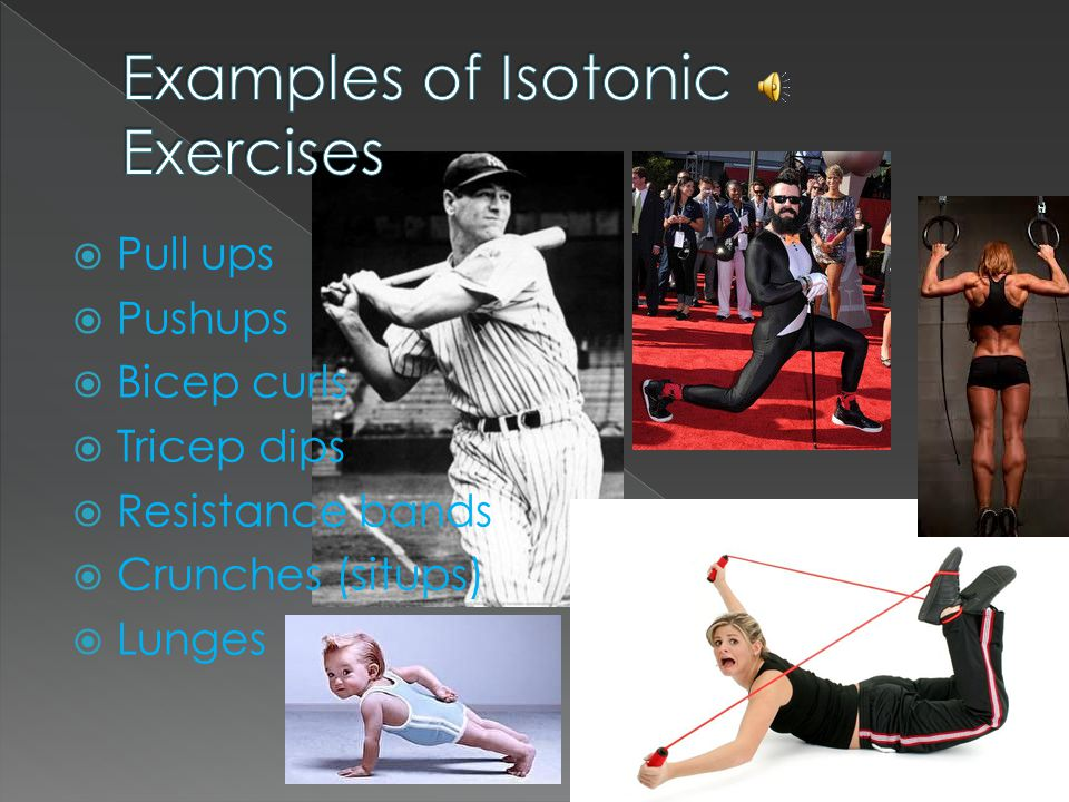 Isotonic Exercise Examples List - Interior Design Ideas for