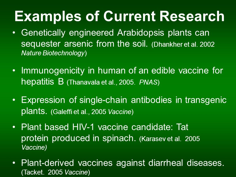 Future directions for agricultural biotechnology  ppt