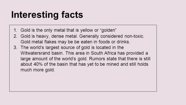 Interesting facts gold periodic table periodic diagrams science gold periodic table facts brokeasshome com urtaz Image collections