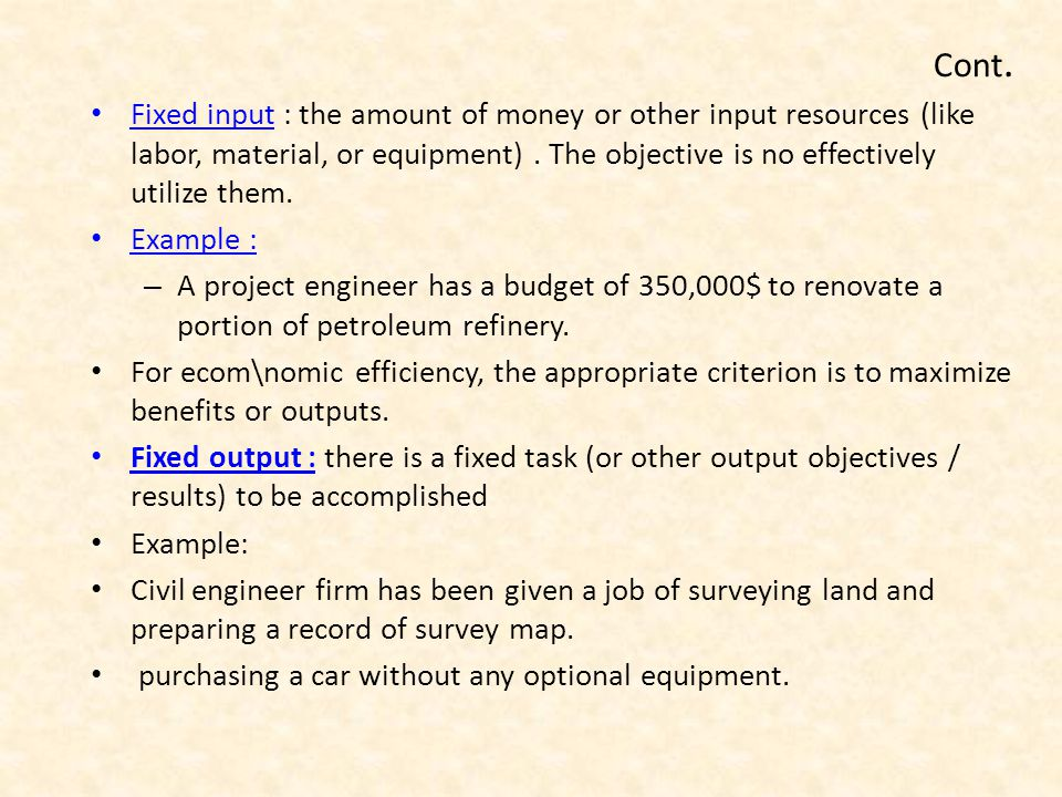 System Engineering  Economy Analysis  ppt download