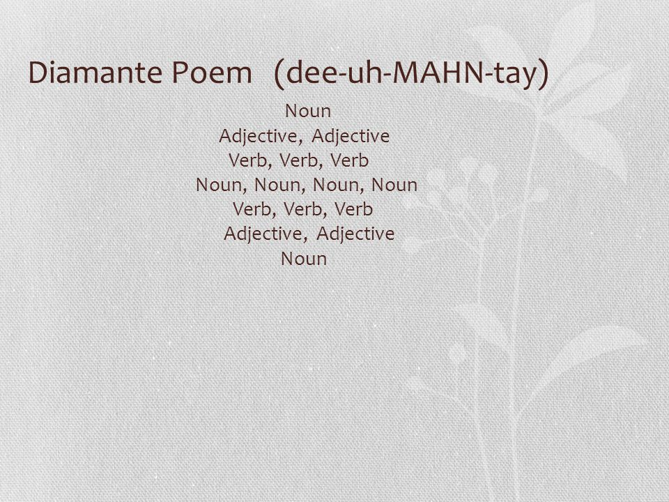 Rhyme Scheme And Types Of Poems Ppt Video Online Download