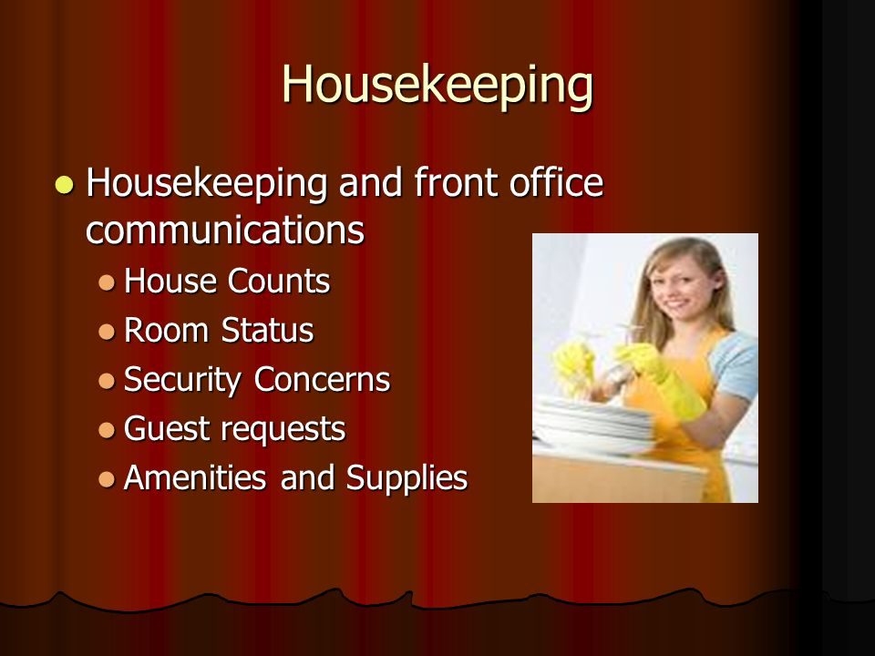 Hospitality Operations  ppt video online download