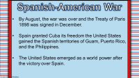 100+ [ Worksheets Spanish American War ] | 28 3 Powerpoint ...