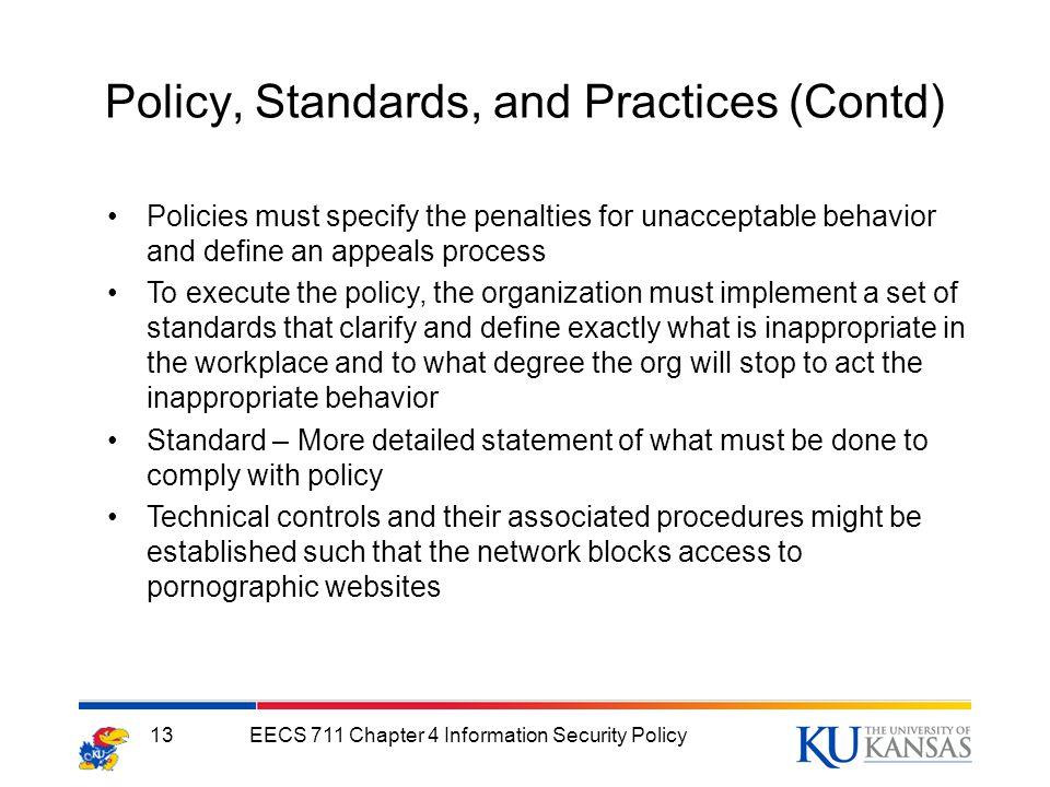 Infosec Policies And Procedures