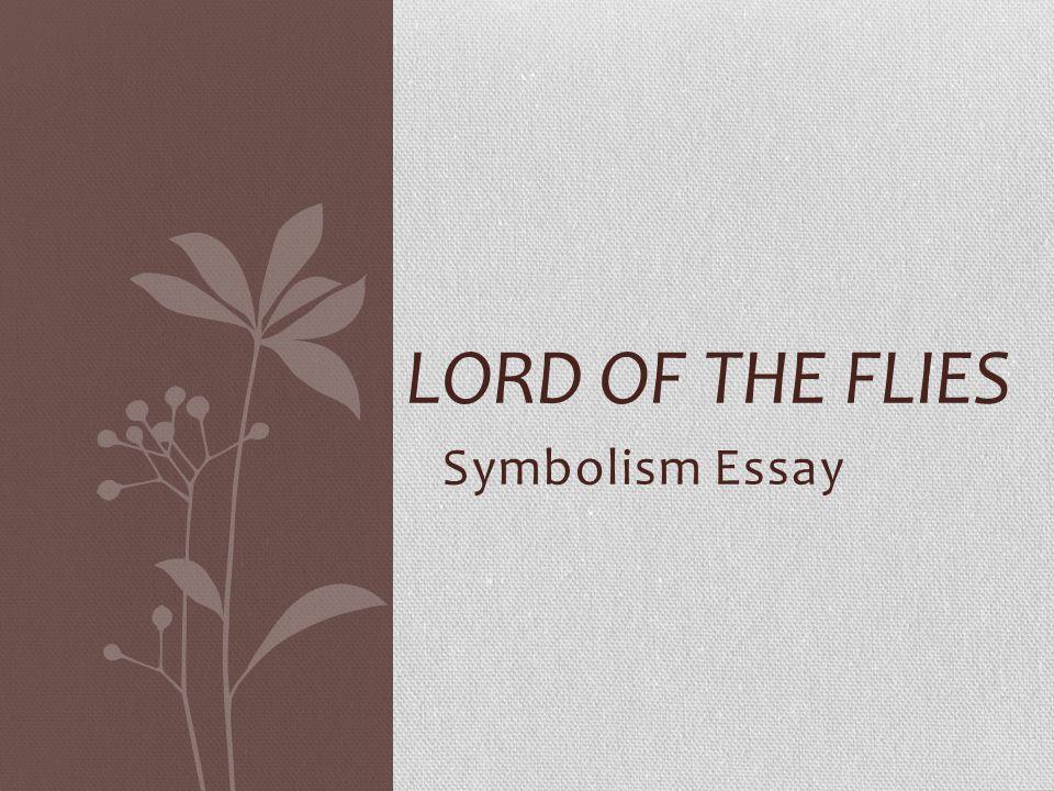 Lord Flies Essay