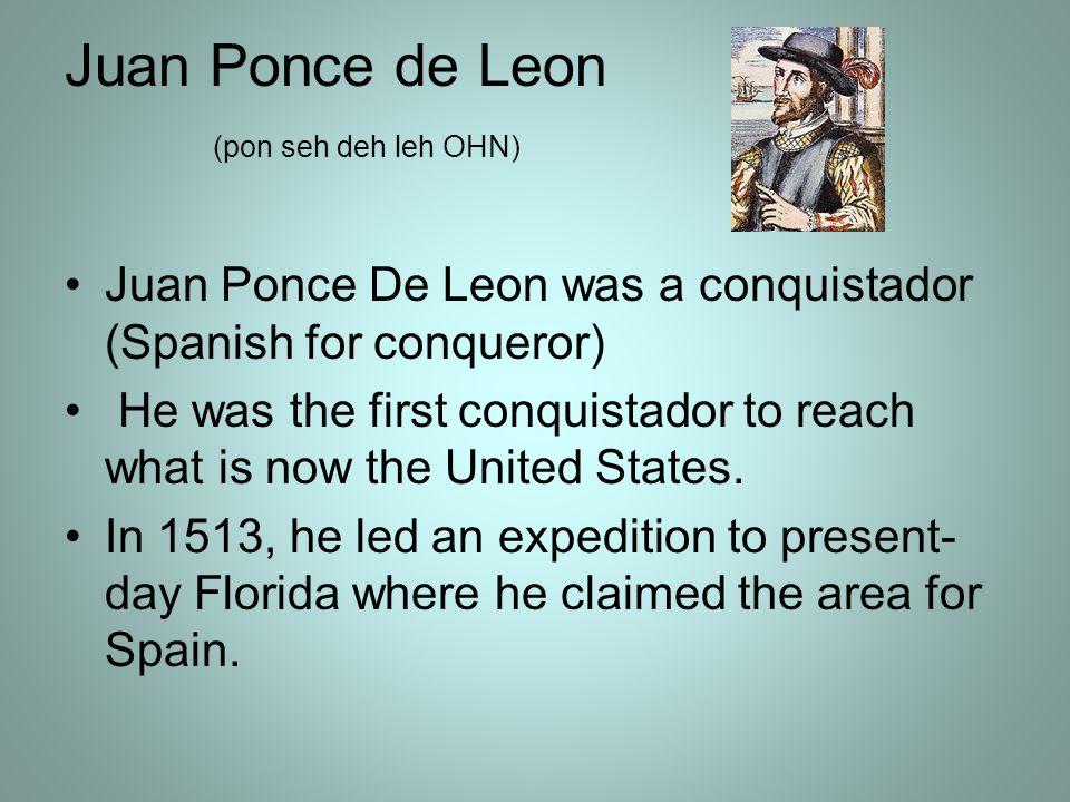 Juan Ponce De Leon S Obstacles