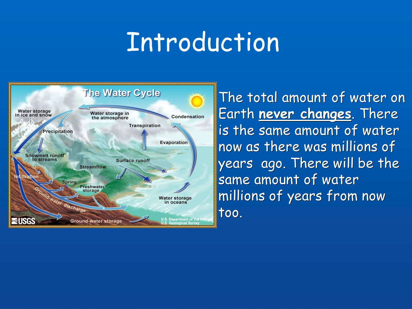 Hydrologic Cycle Notes