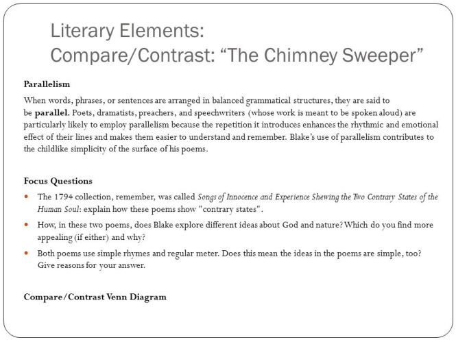 Ysis In Writing | The Chimney Sweeper By William Blake Lesson Analysis