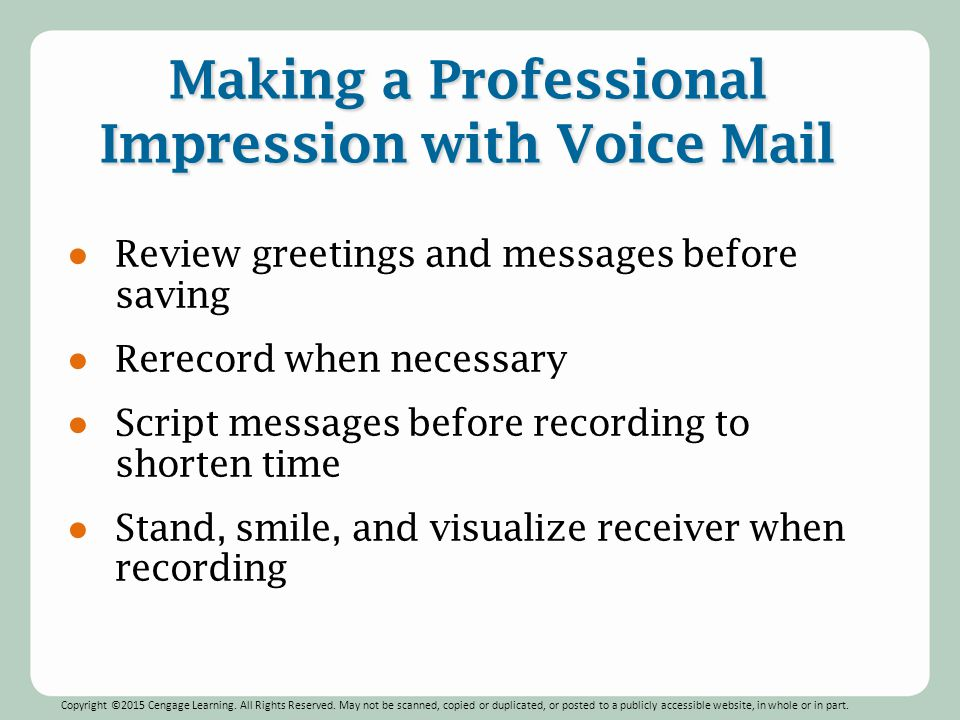 Cell phone voicemail greetings professional m4hsunfo