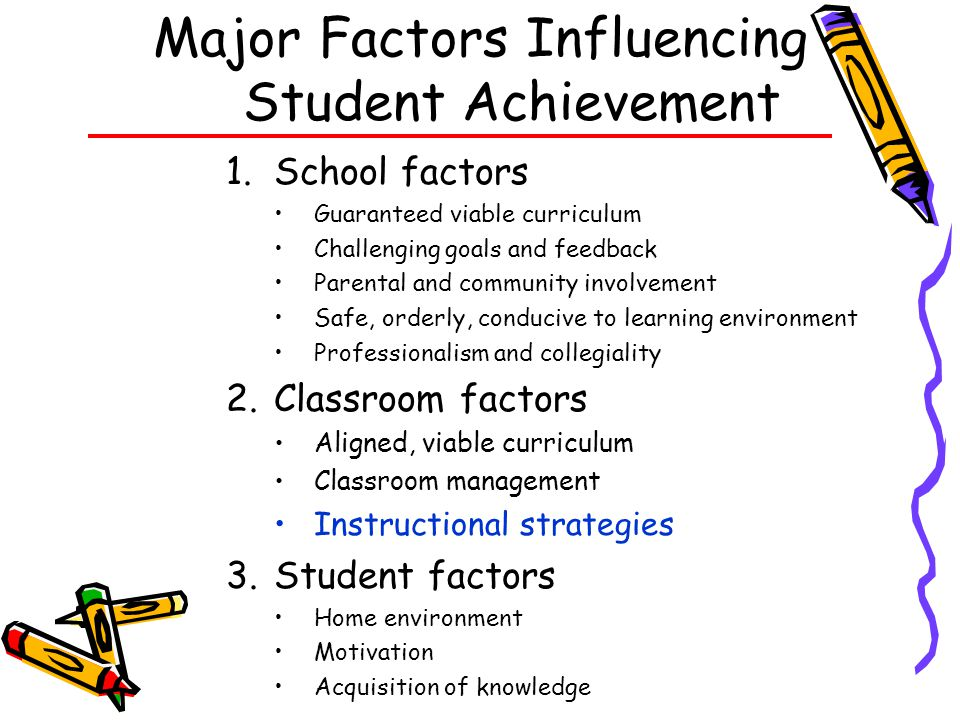 6 Research Based Instructional Strategies Marzano