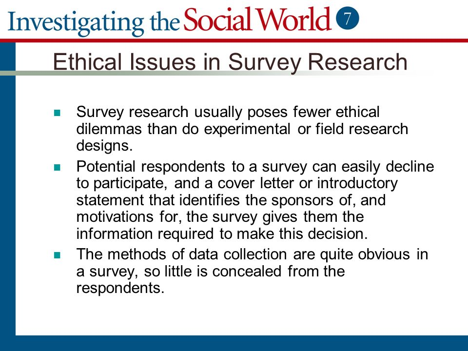 Chapter 8 Survey Research Ppt Video Online Download