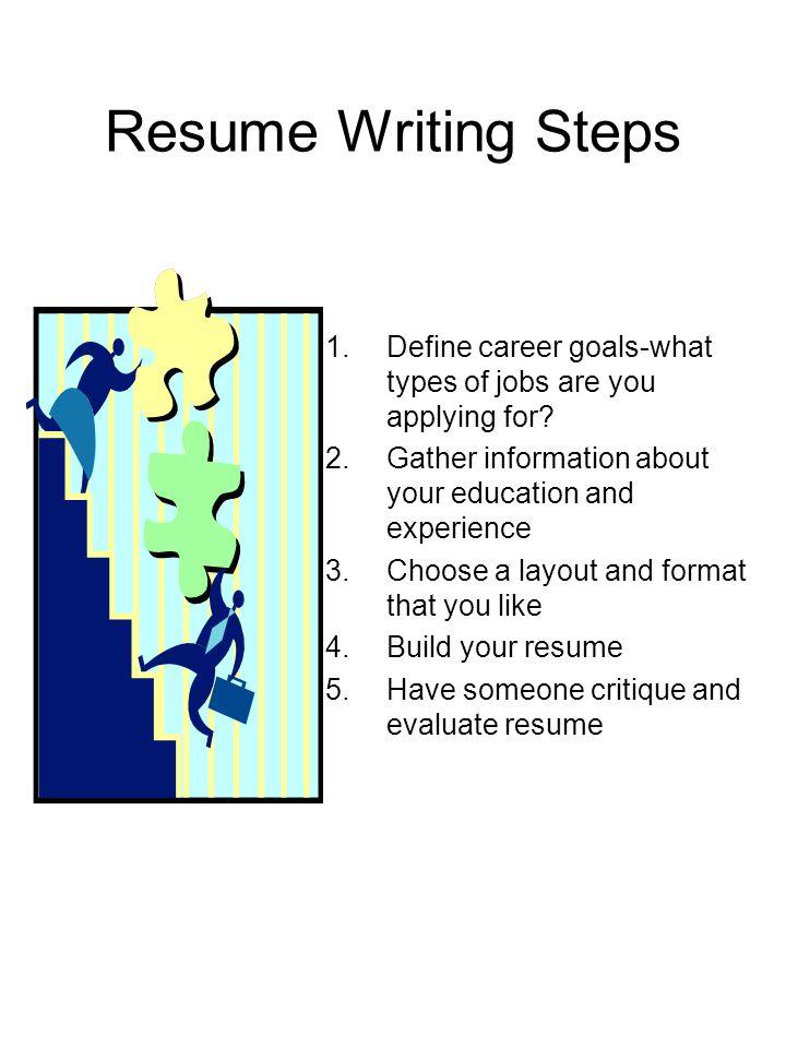 resume writing skills course