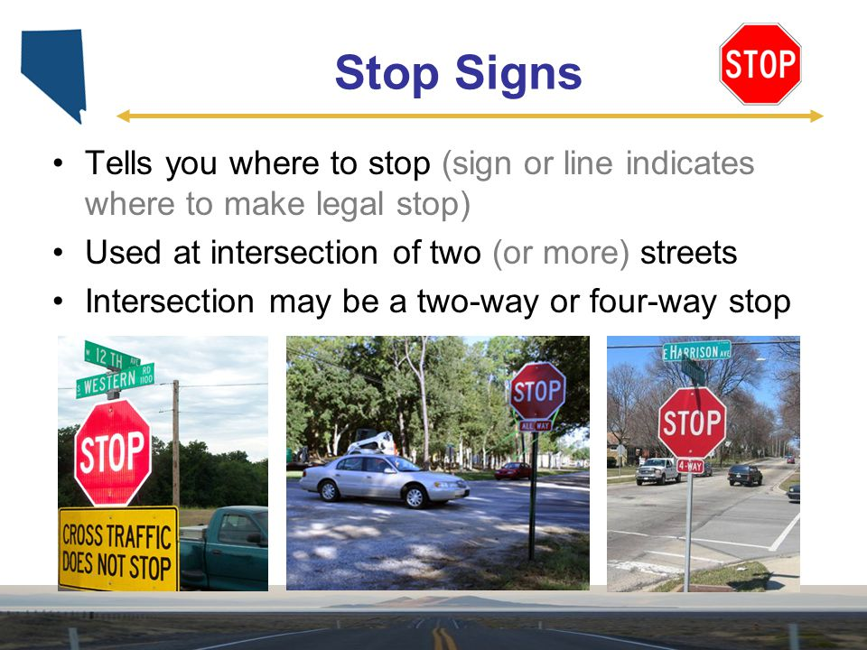 Unit 2 Signs, Signals, And Roadway Markings  Ppt Video