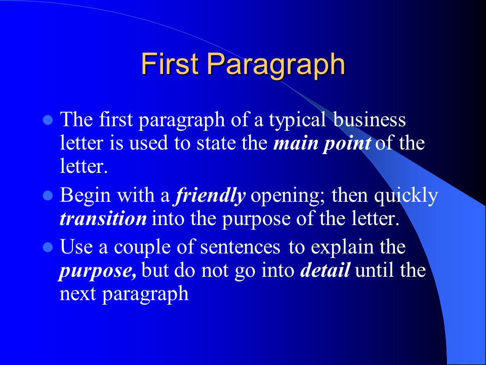 How to Write a Business Letter  ppt video online download