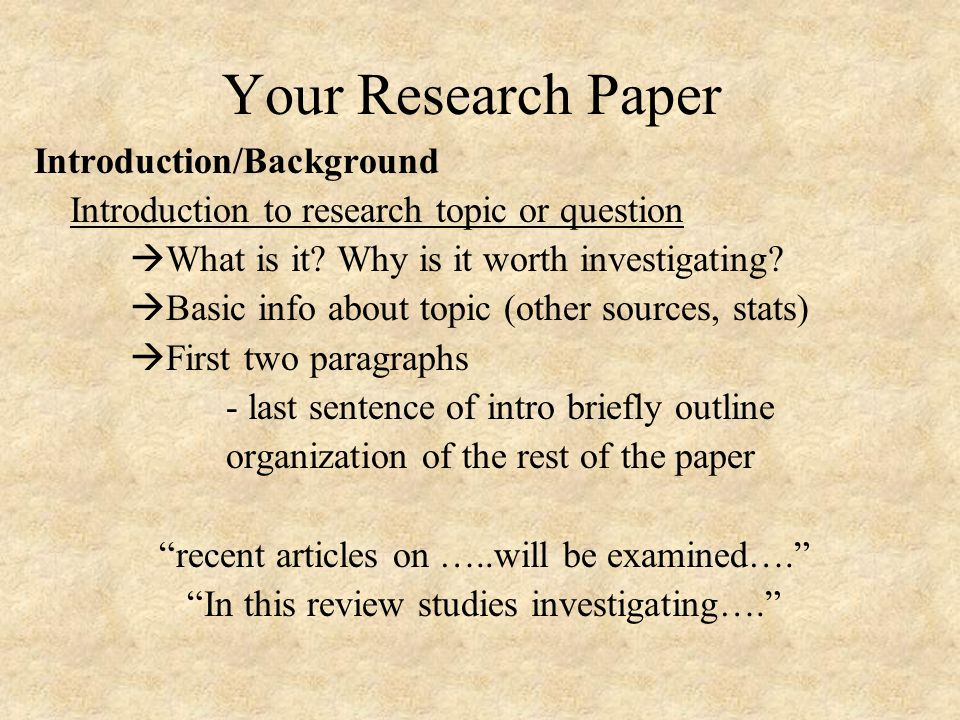 Writing An APA Research Paper Literature Review Ppt