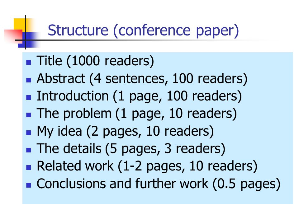 How To Read A Research Paper Write A Research Paper