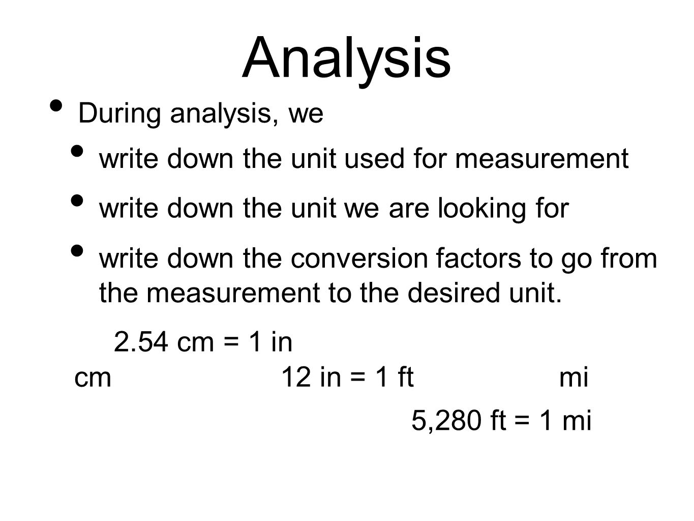Applying Significant Figures