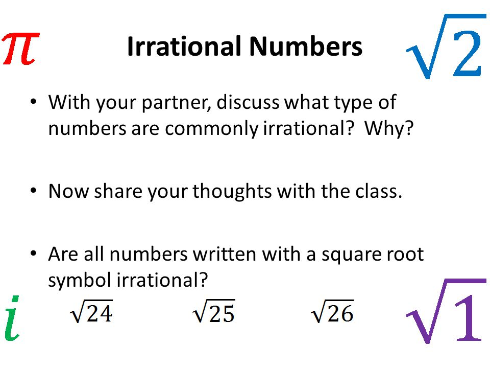 Identify Rational Numbers Calculator