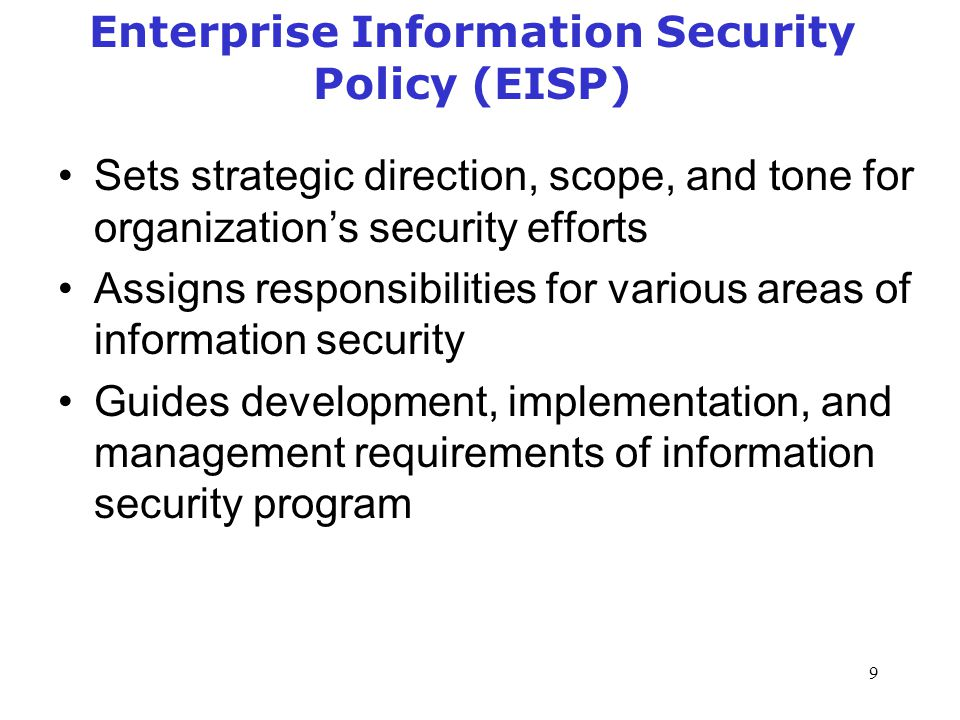 Information Security Management Policy