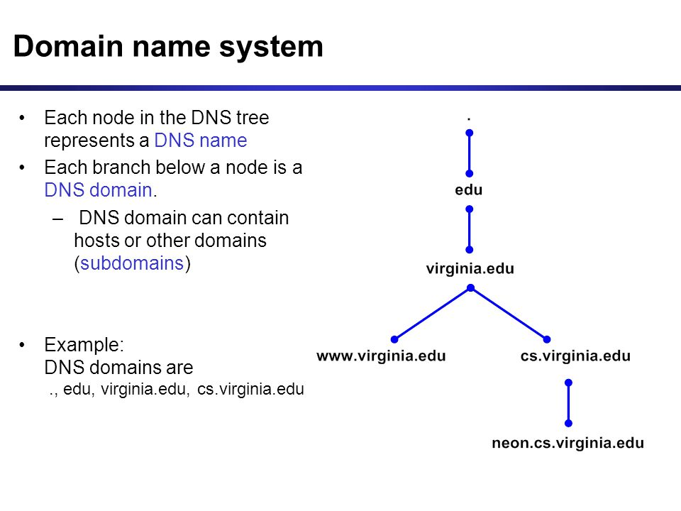 Dns (domain Name System)  Ppt Download