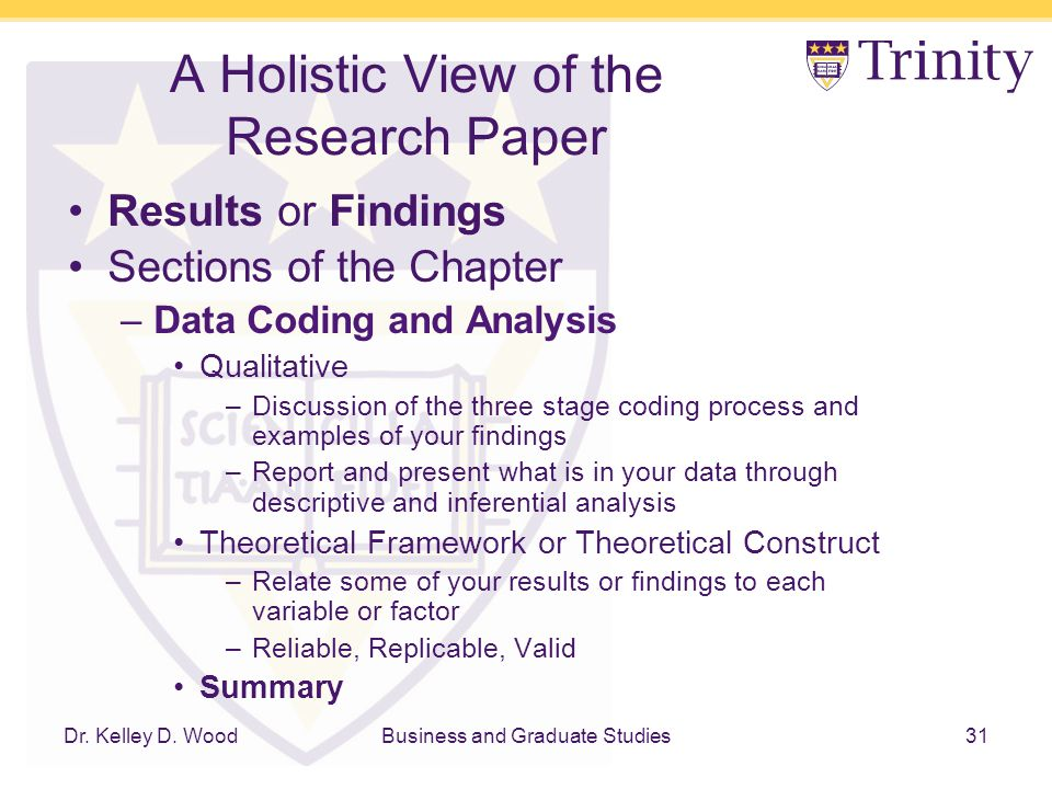 Research Rescue Lab A Holistic View Of The Research Paper Ppt