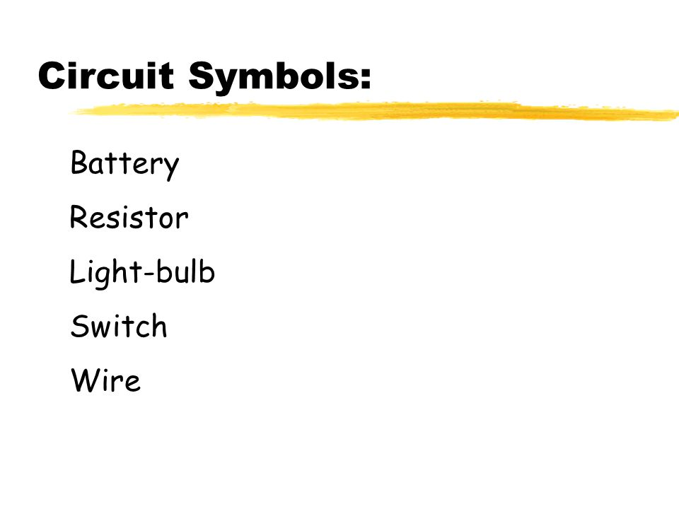 Closed Circuit Diagram Battery Wires Switch Resistor : 52