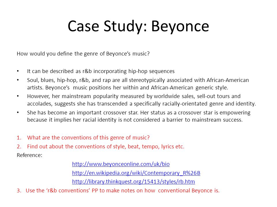 MS4 Music Industry Case Study Beyonce Ppt Video Online Download